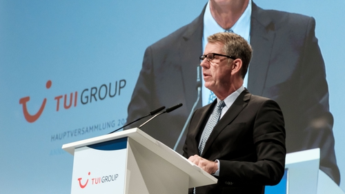 TUI Group's CEO Friedrich Joussen
