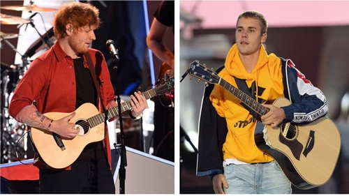 Bieber and Sheeran cruise to Number One with new duet
