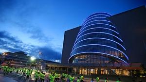 The Dublin venue will host Sunday's draw