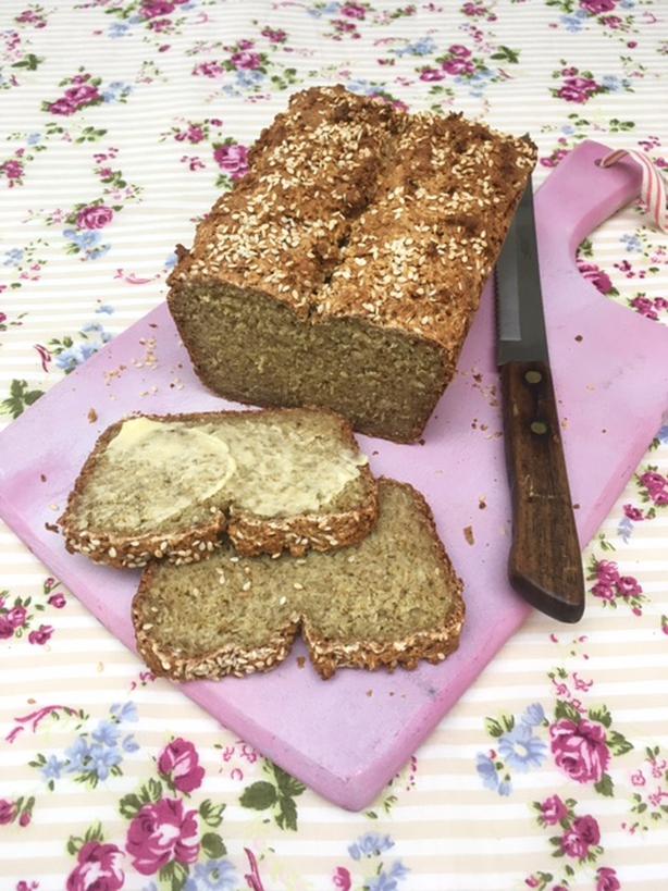 Sharon Hearne Smith's Sesame Seed Porridge Bread from Today with Maura and Dáithí.