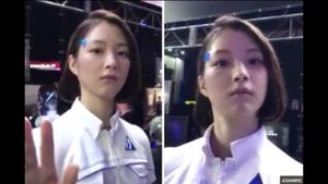 Incredibly lifelike robot is flummoxing viewers