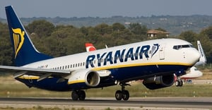 Ryanair said it plans to cut its Dublin-based fleet of aircraft from 30 to around 24 for the winter months