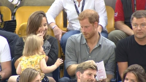 Video of young girl swiping Prince Harry's popcorn has gone viral