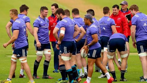 Johann van Grann set to take over at Munster