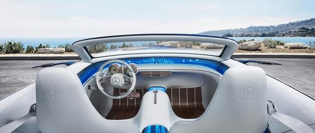 More yacht that super car - the cockpit.