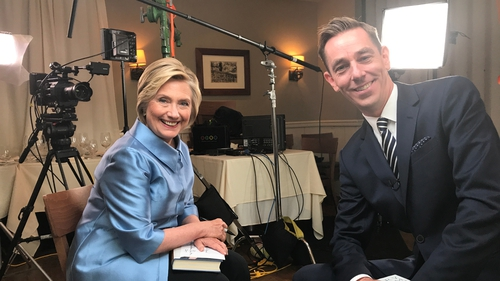 When Ryan Met Hillary, Painting the Nation & more on RTÉ Player