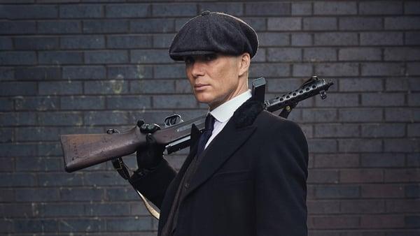 Cillian Murphy in Peaky Blinders