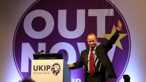 UKIP unveil new leader as ex squaddie Henry Bolton