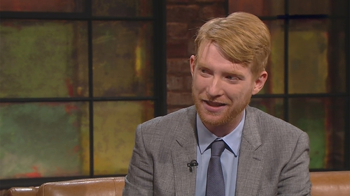 """Domhnall Gleeson - """"Maybe it would have been nice to take my mam's surname just to get it out there. I'm afraid I'm just not a good-enough son that it crossed my mind"""""""
