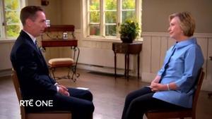 Ryan met Hillary Clinton near her home in Chappaqua, upstate New York