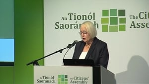Citizens' Assembly chair Ms Justice Mary Laffoy paid tribute to the 1,200 submissions on climate change received from members of the public