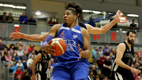 Lehmon Colbert was in scintilating form for UCC Demons