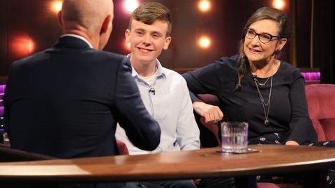 Pauline McLynn and David Rawle | The Ray D'Arcy Show