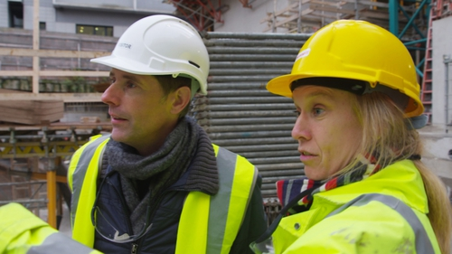 Watch the making of Dublin's deepest building on RTÉ One tonight