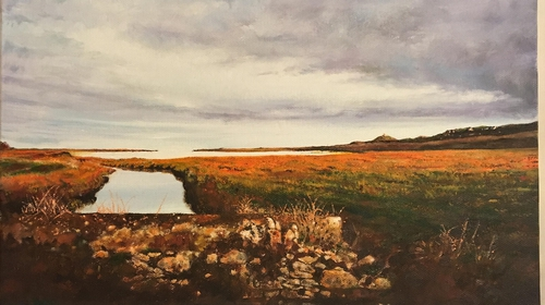 Detail from October view to Ballycotton - Denis O'Callaghan