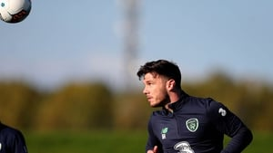 New guy in town - Scott Hogan is enjoying the very early stages of his Republic of Ireland career