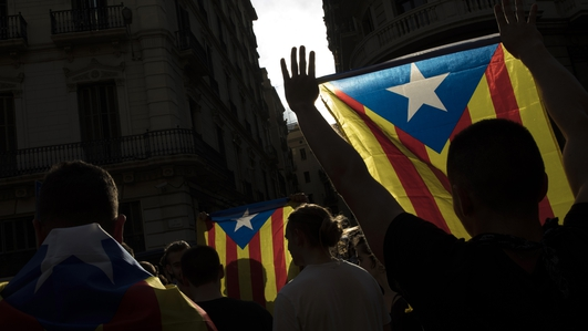 Catalonia set for general strike over independence poll violence