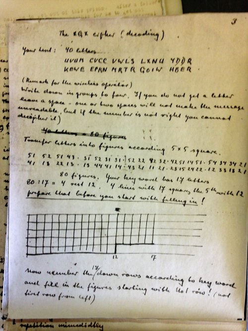 Goertz Cipher Notes