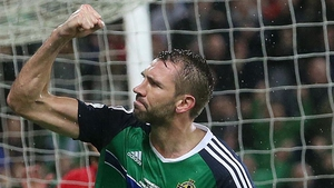 Gareth McAuley played 80 times for Northern Ireland