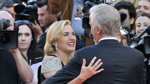 Together again - Kate Winslet and James Cameron