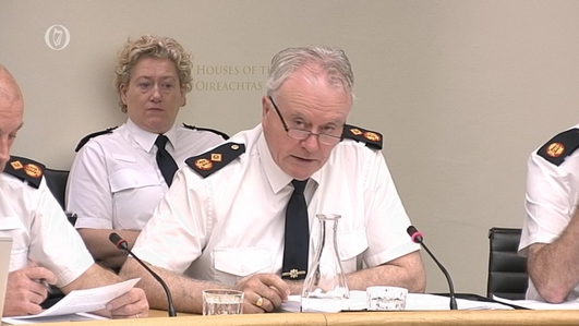 Acting Garda Commissioner Before The Oireachtas Justice Committee