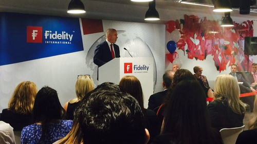 President of Fidelity International Brian Conroy said 'Dublin is a key international hub to support our global growth objectives for the business'