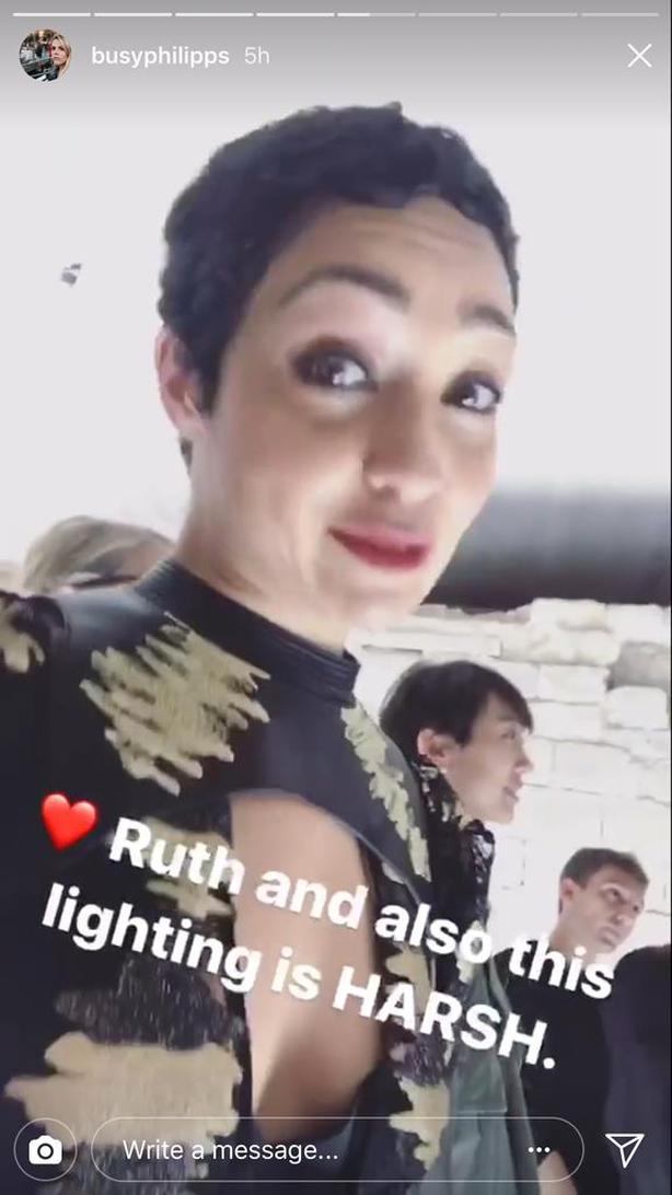 Ruth Negga on Busy Philipps' Instagram