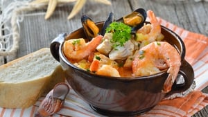Make a hearty fish stew to warm your bones.