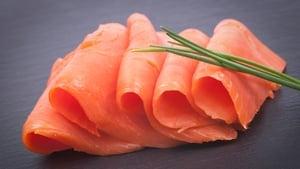 Pan Seared Smoked Salmon, Celeriac Remoulade: Thomas Haughton