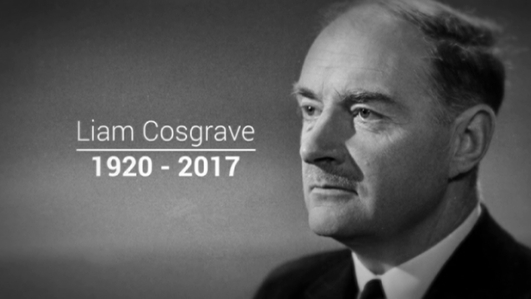 Liam Cosgrave remembered by former colleagues
