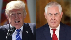 Donald Trump said that he has 'total confidence' in Rex Tillerson