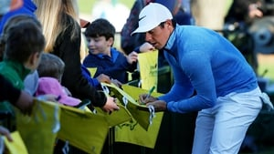 Rory McIlroy - loves signing autographs