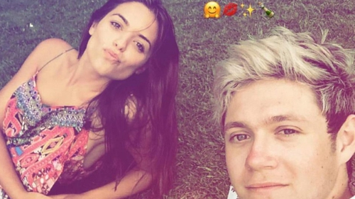 Olympia Valance and Niall Horan