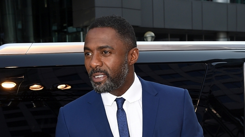 Idris Elba: ''It was great. I felt really famous that day. It was a bit awkward because Taylor Swift and I had to present an award.""