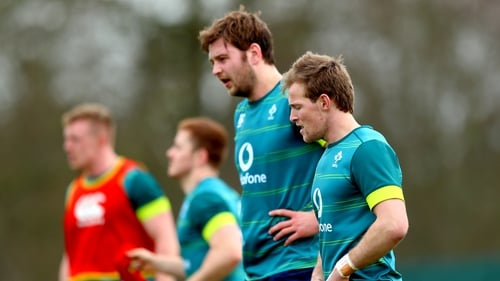 International team-mates Iain Henderson and Kieran Marmion will be in opposition on Friday