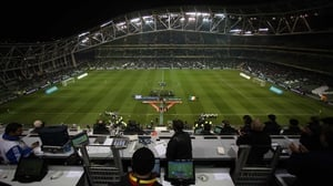 The match kicks-off at 7.45pm at the Aviva Stadium