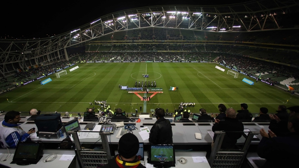 It's rugby in the Aviva Stadium this week as Ireland return to action for the November matches