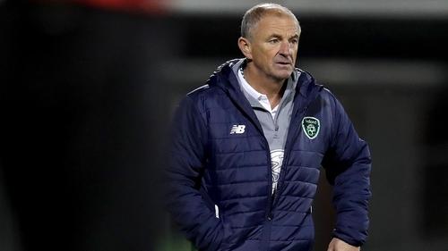 Republic of Ireland manager Noel King