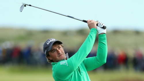 Paul Dunne is two off the joint leaders