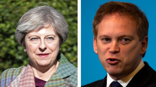 Grant Shapps claims to have the support of about 30 MPs to oust Theresa May as Tory leader