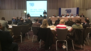 Simon Harris was addressing the IHCA conference this morning