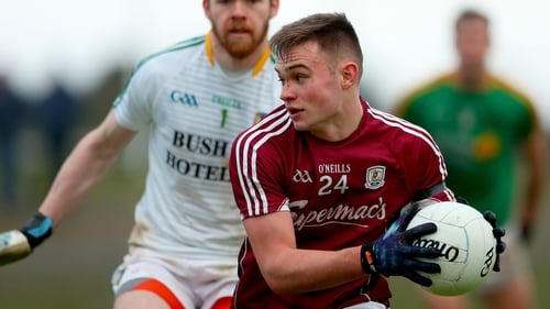 Cillian McDaid recently took part in the AFL draft