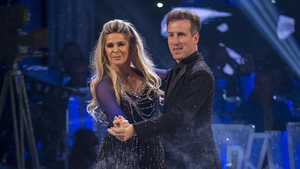 Ruth Langsford with Anton Du Beke on Strictly