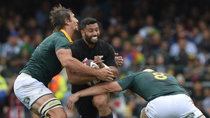 All Blacks held off South Africa to end their Rugby Championship campaign unbeaten.