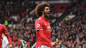 Marouane Fellaini spent over five years with the Old Trafford club