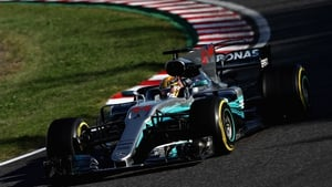 Hamilton is 59 points clear with four races remaining