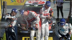 Kris Meeke claimed his fifth WRC victory