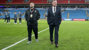 Michael O'Neill's side will contest the play-offs