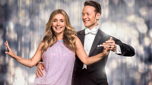 Louise Redknapp and Kevin Clifton were Strictly partners in 2016