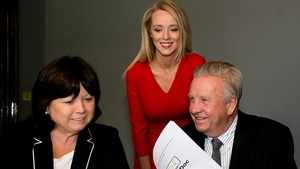 VideoDoc chairperson Mary Harney, CEO Mary O'Brien and new medical director Dr Conor O'Hanlon